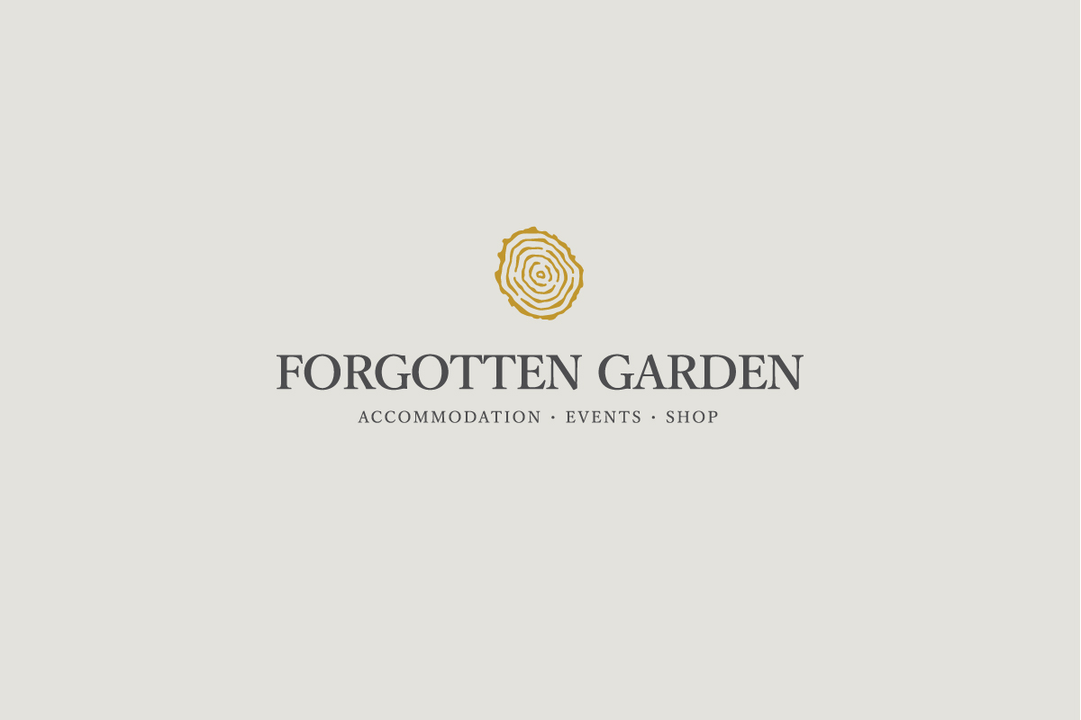 Rok Jurman Design for Forgotten Garden (Portorož) - logo positive