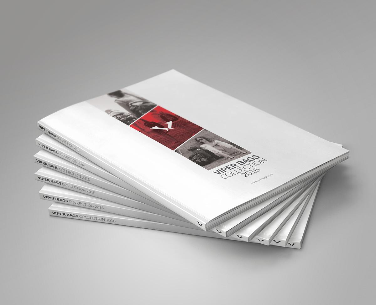Rok Jurman Design for Target and Viper Bags (Izola) - catalogue design