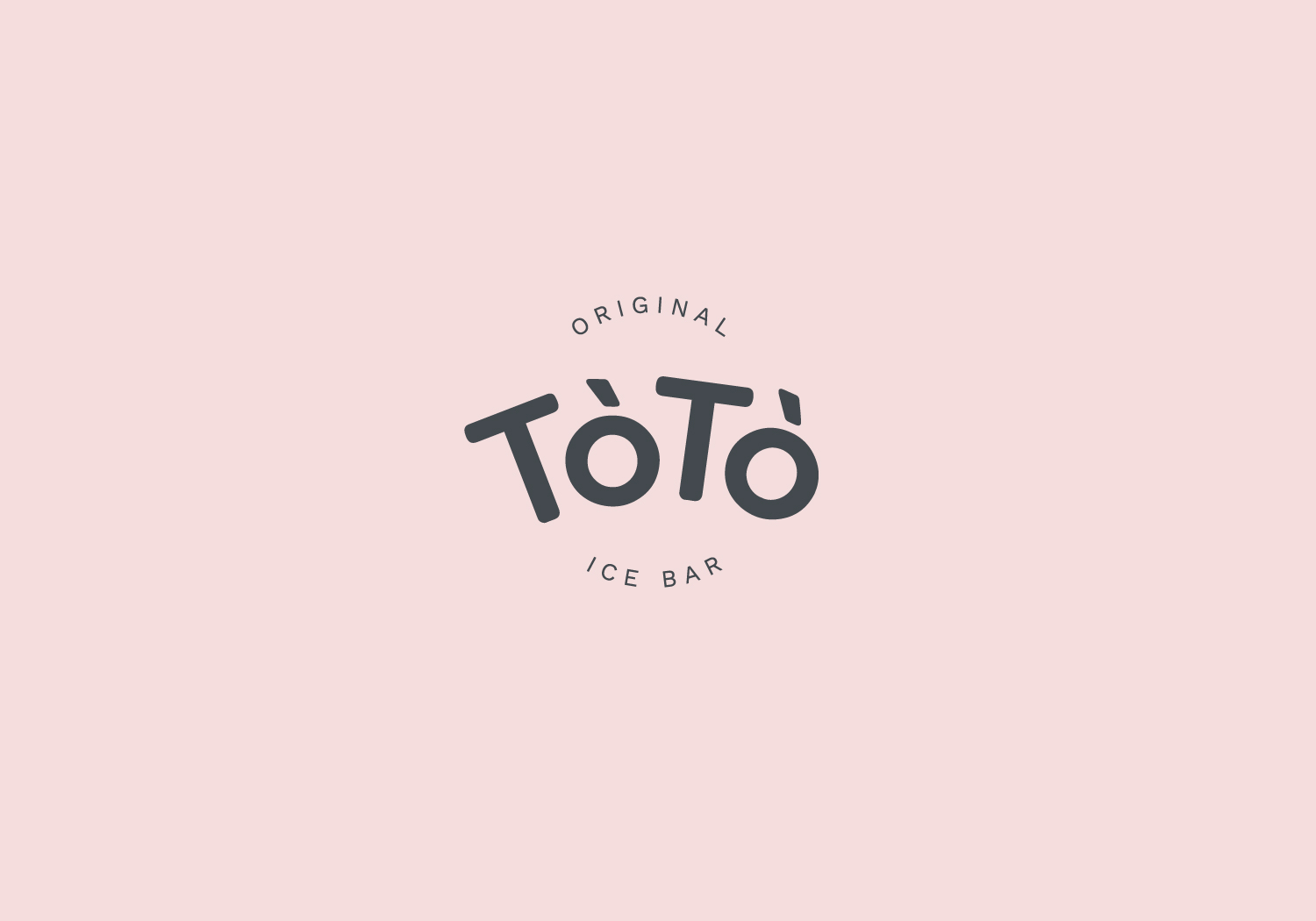 Rok Jurman Design for ToTo Ice Bar (Koper) - logo positive