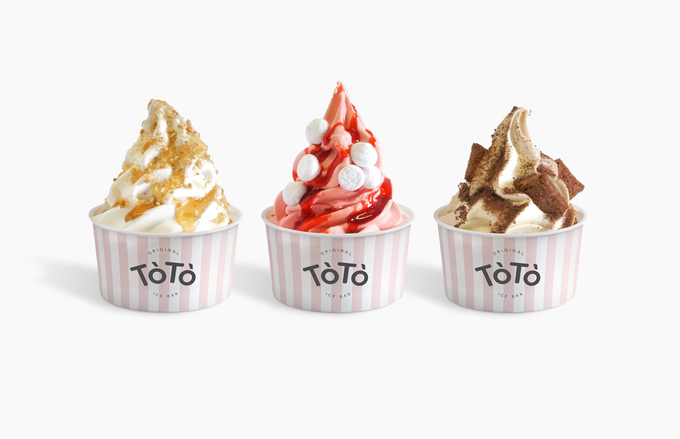 Rok Jurman Design for ToTo Ice Bar (Koper) - cup design
