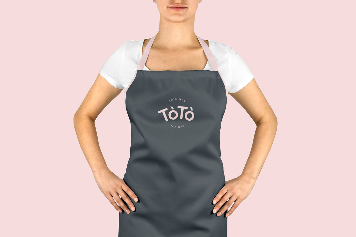 Rok Jurman Design for ToTo Ice Bar (Koper) - apron