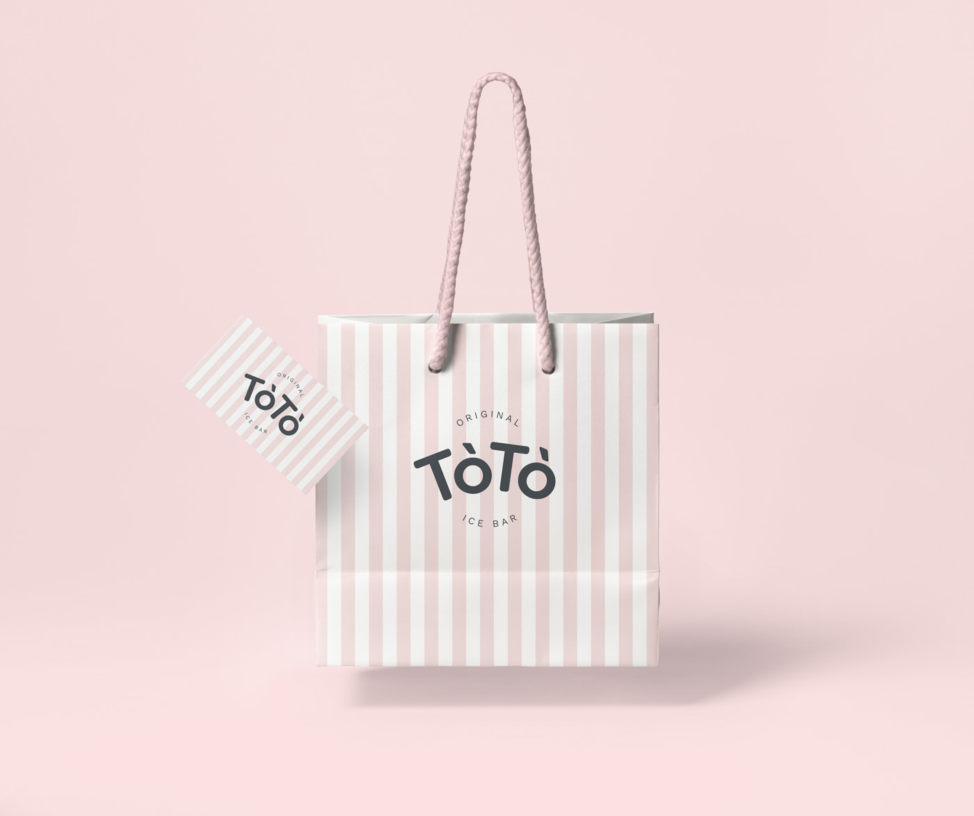 Rok Jurman Design for ToTo Ice Bar (Koper) - bag