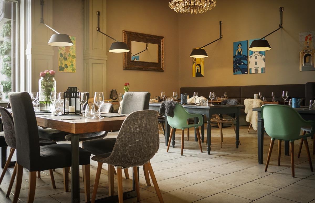 Restaurant Capra ambient (photo by Rok Jurman Design)