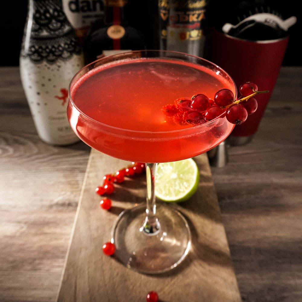 Cosmopolitan cocktail (photo by Rok Jurman Design)