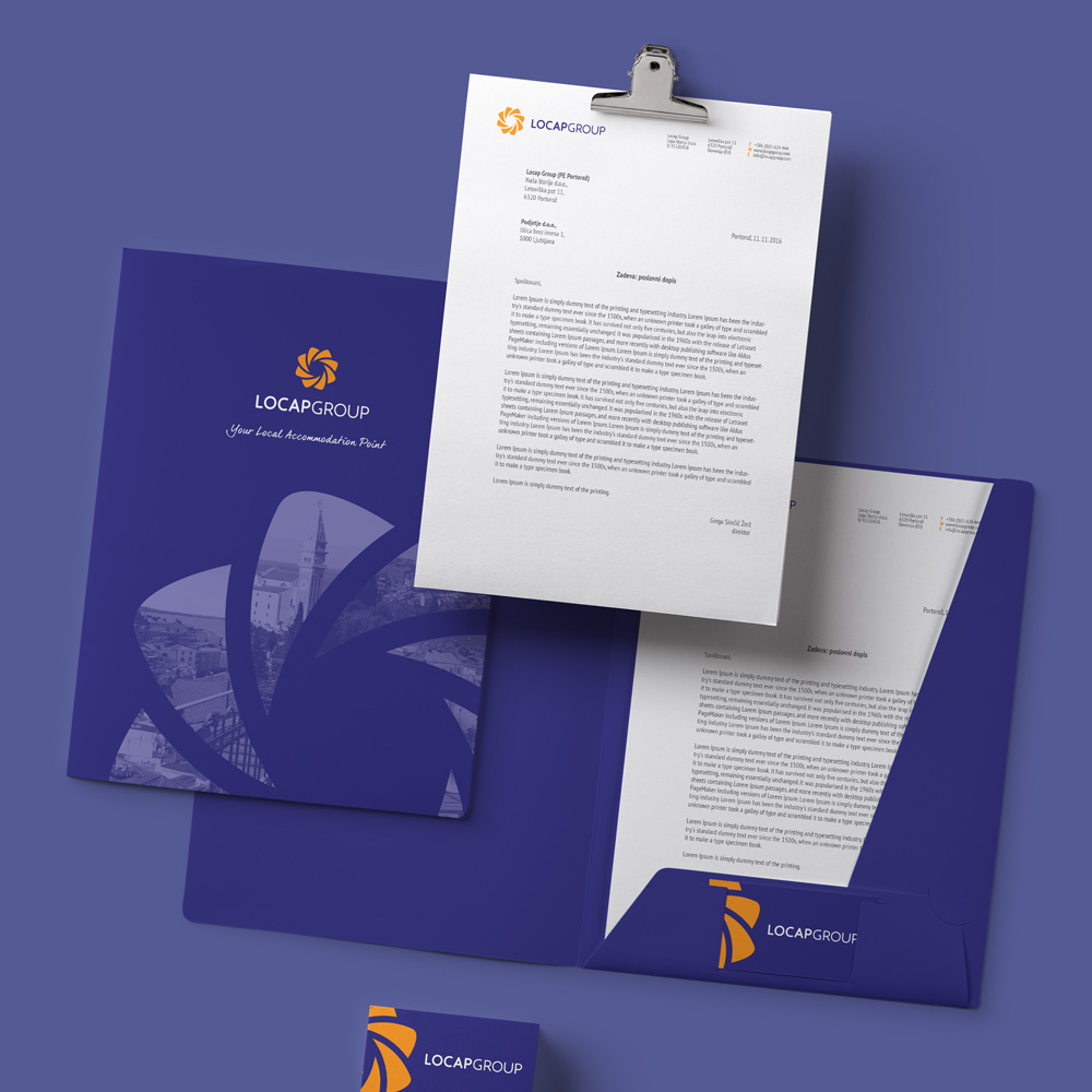 Rok Jurman Design for Locap Group (Portorož and Piran)