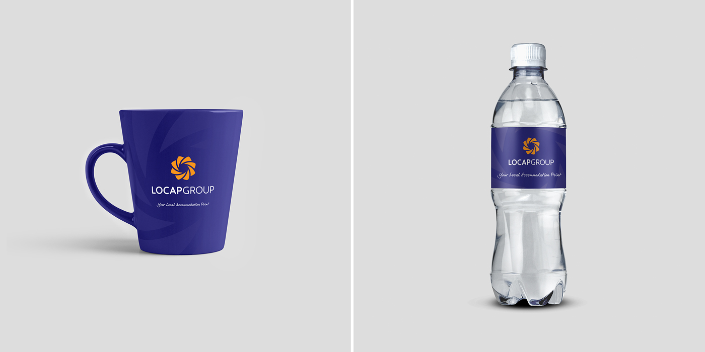 Rok Jurman Design for Locap Group (Portorož and Piran) - mug and and bottle design