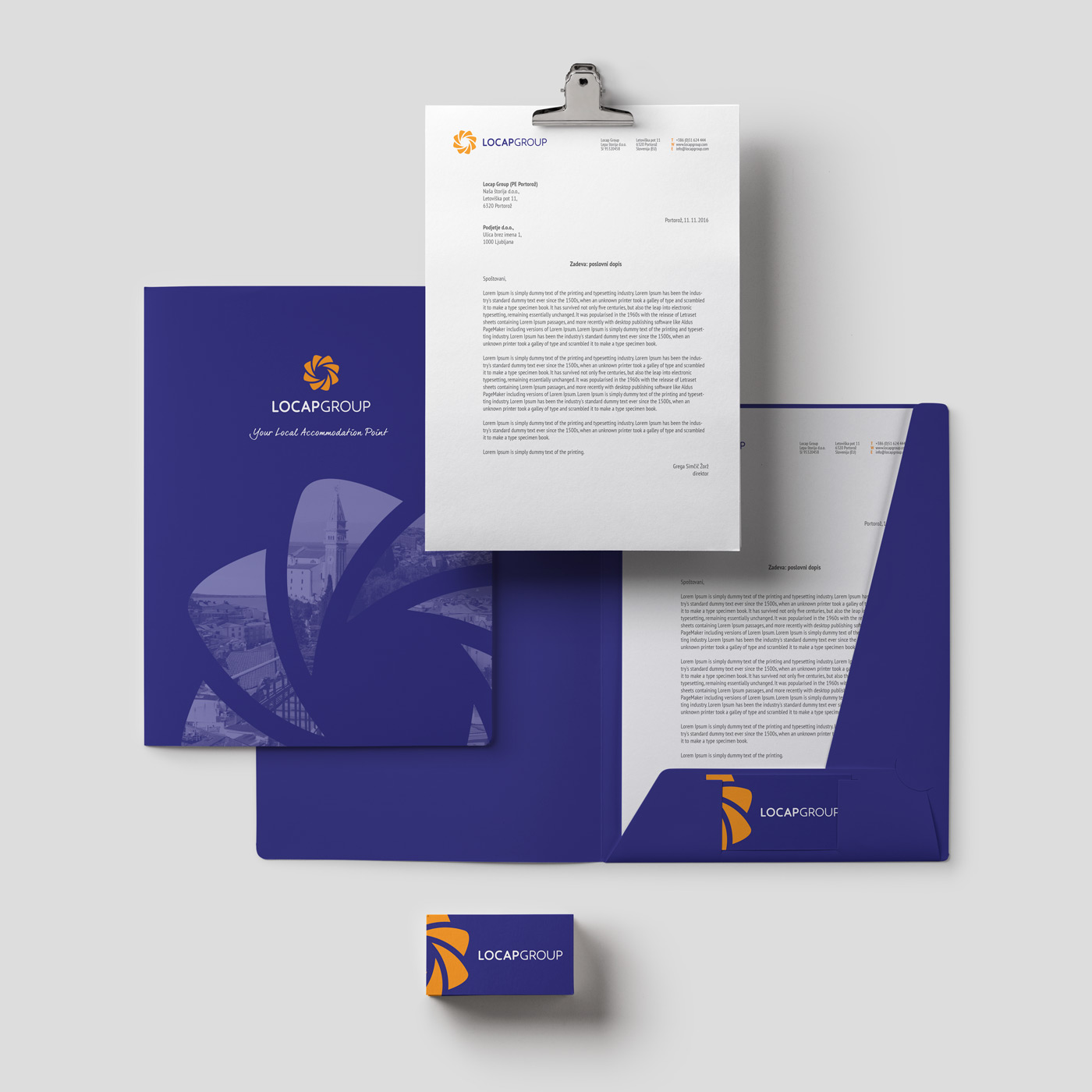 Rok Jurman Design for Locap Group (Portorož and Piran) - stationary