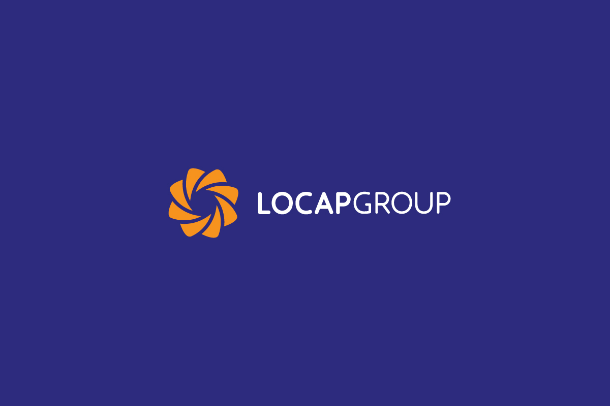 Rok Jurman Design for Locap Group (Portorož and Piran) - logo negative