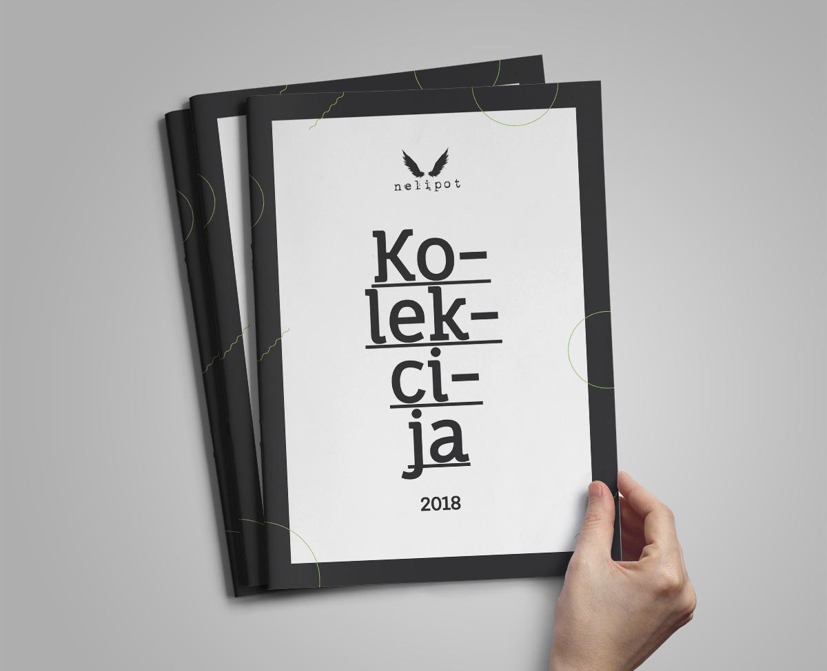 Rok Jurman Design for Nelipot natural cosmetics (Ljubljana) - catalogue design
