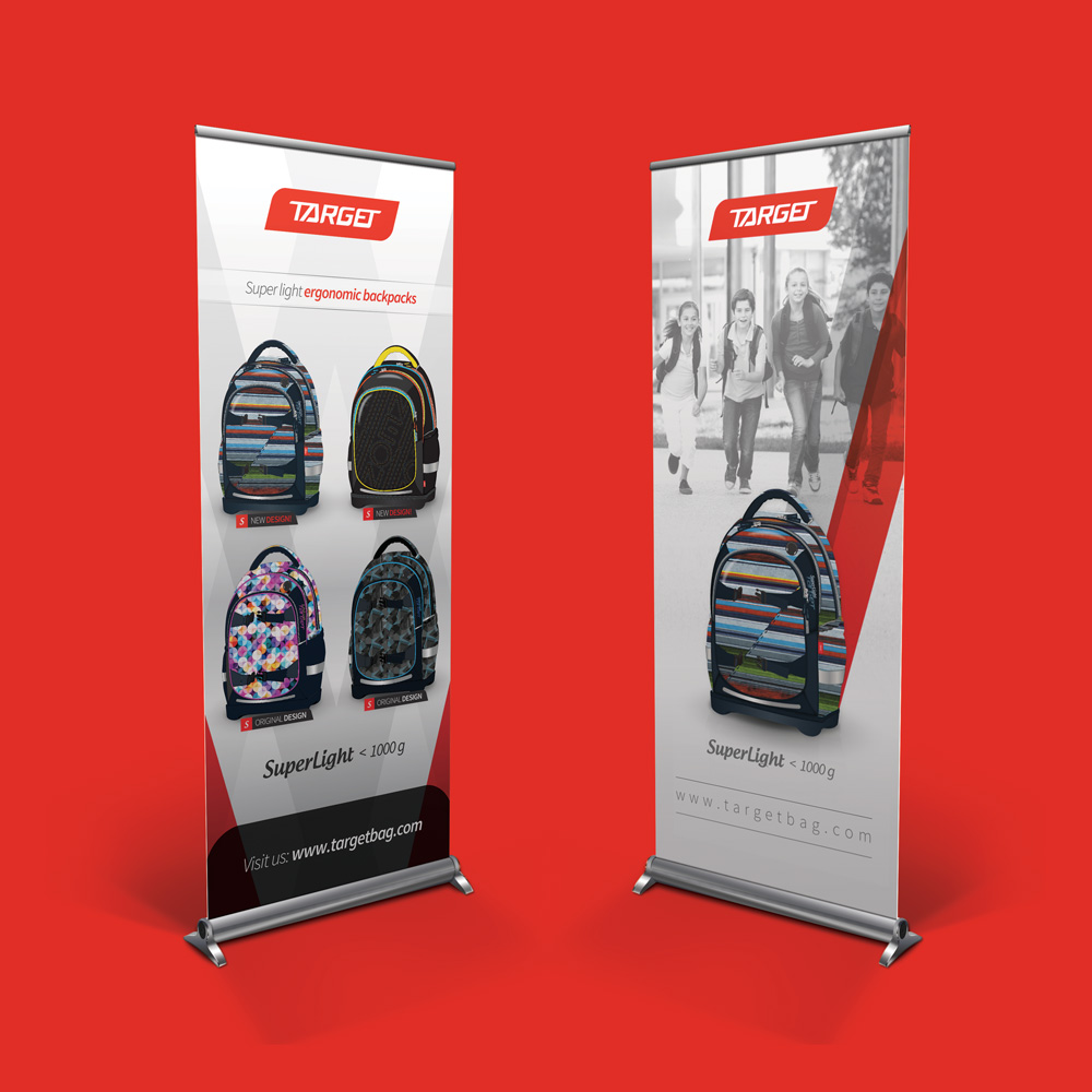 Rok Jurman Design for Target and Viper backpacks - Izola