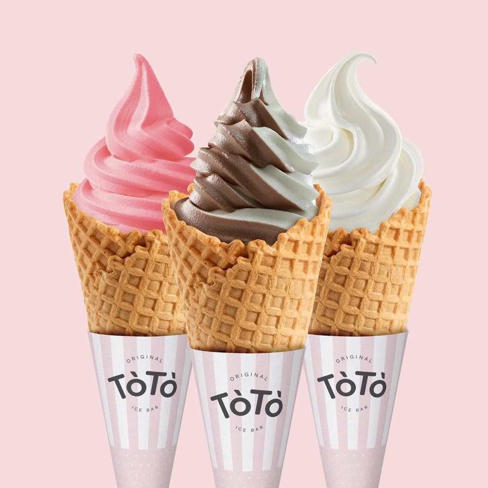 Rok Jurman Design for ToTo Ice Bar (Park Center Koper) - ice cream cone design